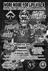 MORE NOISE FOR LIFE fest 2014