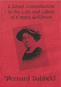 Portal:Emma Goldman