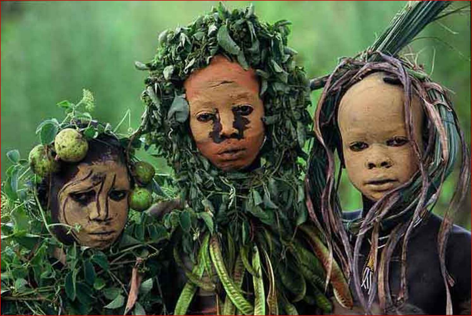 Фото дикие племена в африке 16 фотография