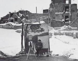 Varsovia+en+invierno+1947